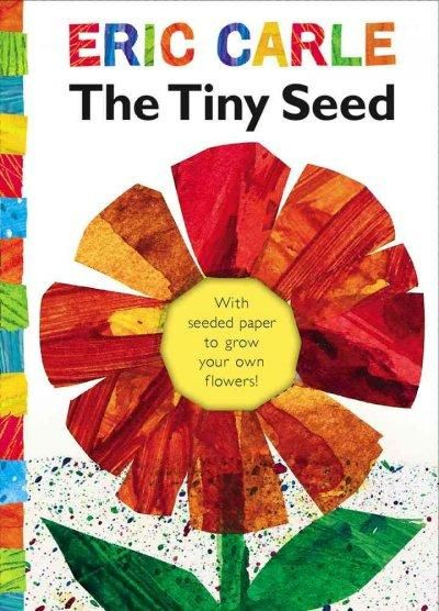 Eric Carles classic story of the life cycle of a flower is told through the adventures of a tiny seed. This mini-book includes a piece of detachable seed-embedded paper housed on the inside front cove