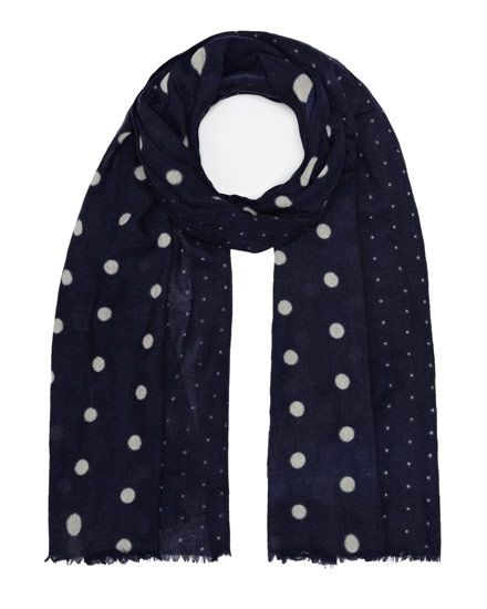 polka-dot-scarf