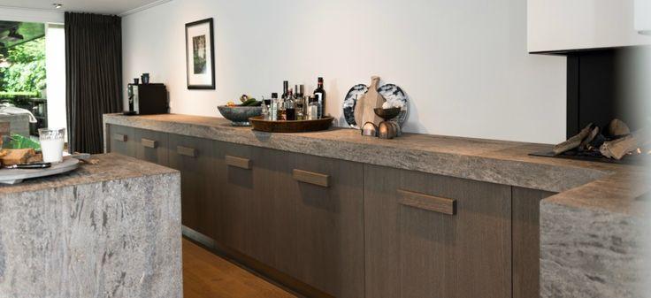 LEEM Wonen keuken Jeroen Bos Design aanrecht