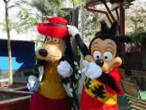 Goofy has a job as a trash worker & his son Max who is in Minnie goes Hollywood has a job at a place called Burger Planet Goofy even loses his job just before he takes part in movies.