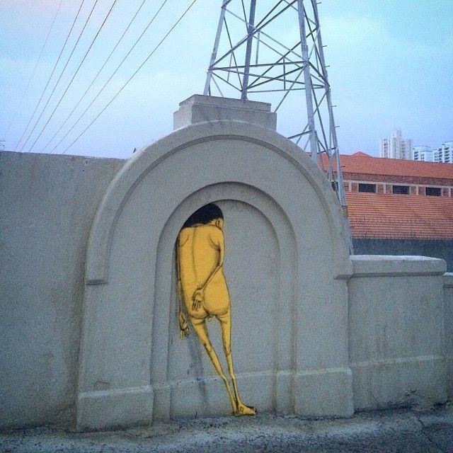 Os Gemeos - Brazilian Street Artists - Sao Paulo (BRA) - 01/2015 - |*/| #osgemeos #streetart