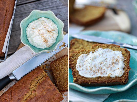 pumpkin bread cinnamon cheesecake spread | Recipes Quick Breads | Pin ...