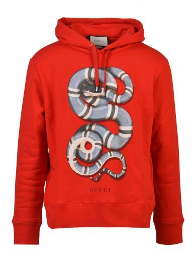 GUCCI Gucci Cotton Sweatshirt With Snake Print. #gucci #cloth #https: