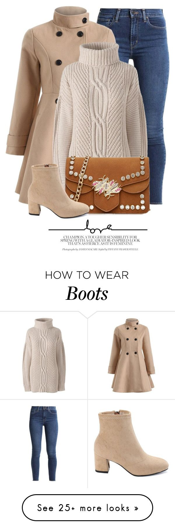 """Nine"" by monmondefou on Polyvore featuring Lands' End and plus size clothing"