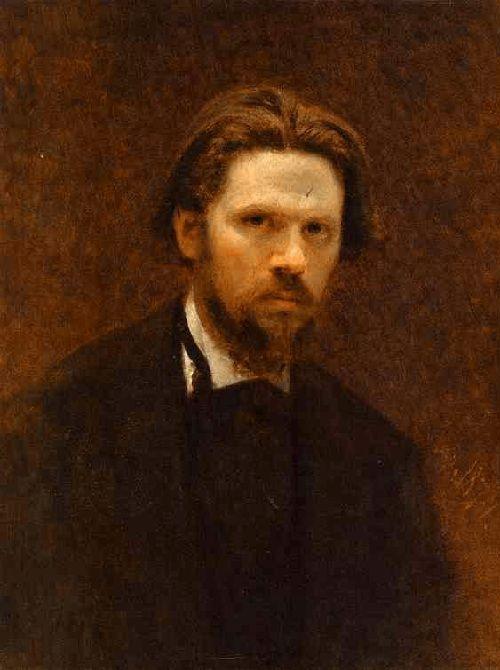 Автопортрет. (1874). Автор: И.Н.Крамской.   Фото:cultobzor.ru.