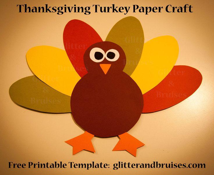 best 25 turkey template ideas on pinterest fall crafts