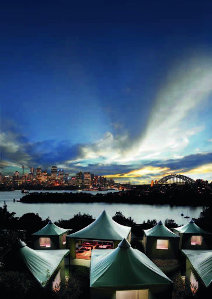 Taronga Park Zoo's Roar and Snore overlooking Sydney Harbour is a highlight of the Sydney summer #ilovesydney #seeaustralia #TwilightatTaronga