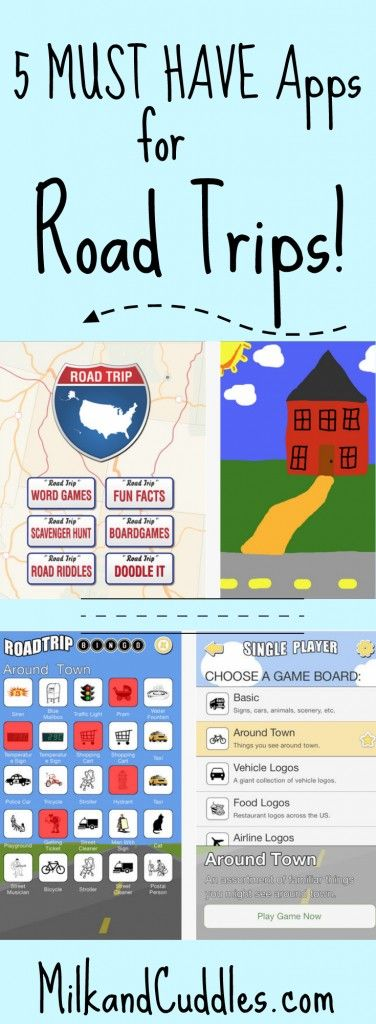 GREAT list of 5 apps for road trip!! Several I've never heard of! Pinning for our next Road trip!  Our family loves a Road Trip! Not only is it cheaper than flying, it gives you so many more opportunities to tailor the trip to your own specific family. But Road Trips do have one downfall, which is that there's usually a lot of down time. And that's where these travel apps come in!  Here are 5 of my favorite Road Trip Apps!