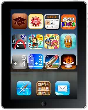 Top 12 Math iPad Apps for Students and Teachers #education. Wish we had iPads in our rooms...