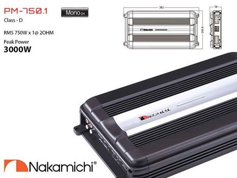 Powerful class D mono block #amplifier is designed specially to pump up the #subwoofer. Nakamichi mono block class D amplifier is the quintessential part of the car audio for those who prefer extra deep bass.  #NakamichiSA #InCarEntertainment #CarAudio