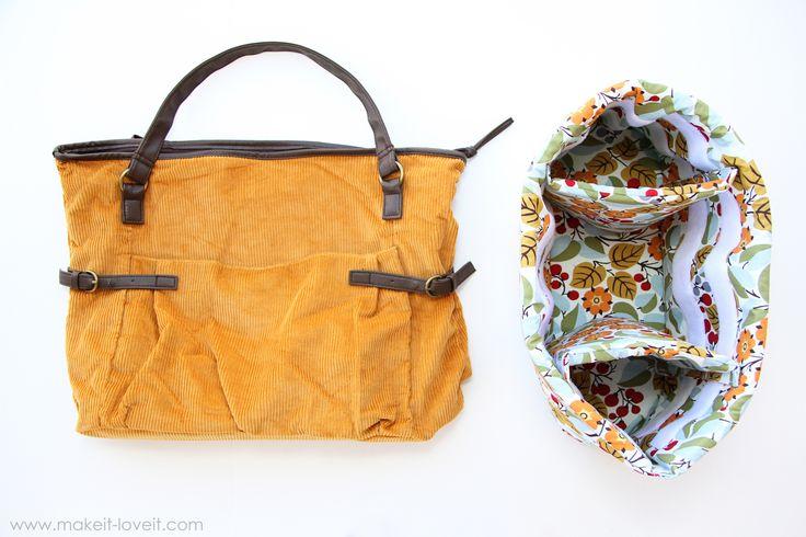 Turn a Purse into a Padded Camera BagIdeas, Bags Tutorials, Cameras Bags Insert, Pads Cameras, Diy Cameras, Bags Pur, Camera Bags, Cameras Bags Diy, Sewing Tutorials