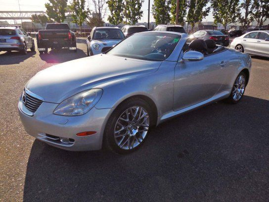 Convertible, 2006 Lexus SC 430 Convertible with 2 Door in Van Nuys, CA (91406)