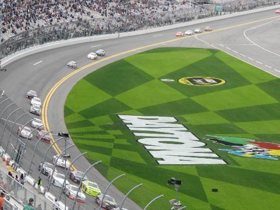 Daytona Beach, FL:                                     Daytona Race Track