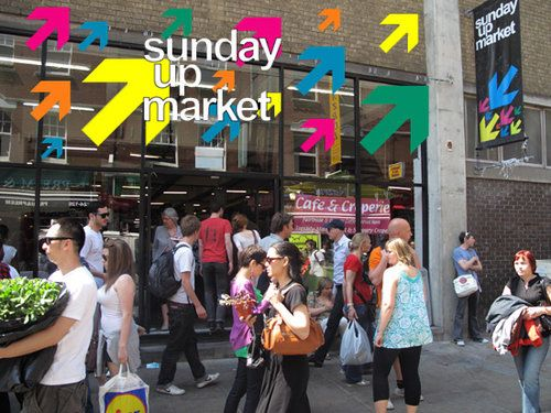 Sunday Up Market, Bricklane Londra