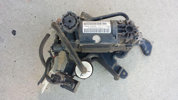 2113200304 Mercedes Benz W220 S- Class suspension compressor pump motor 00-06