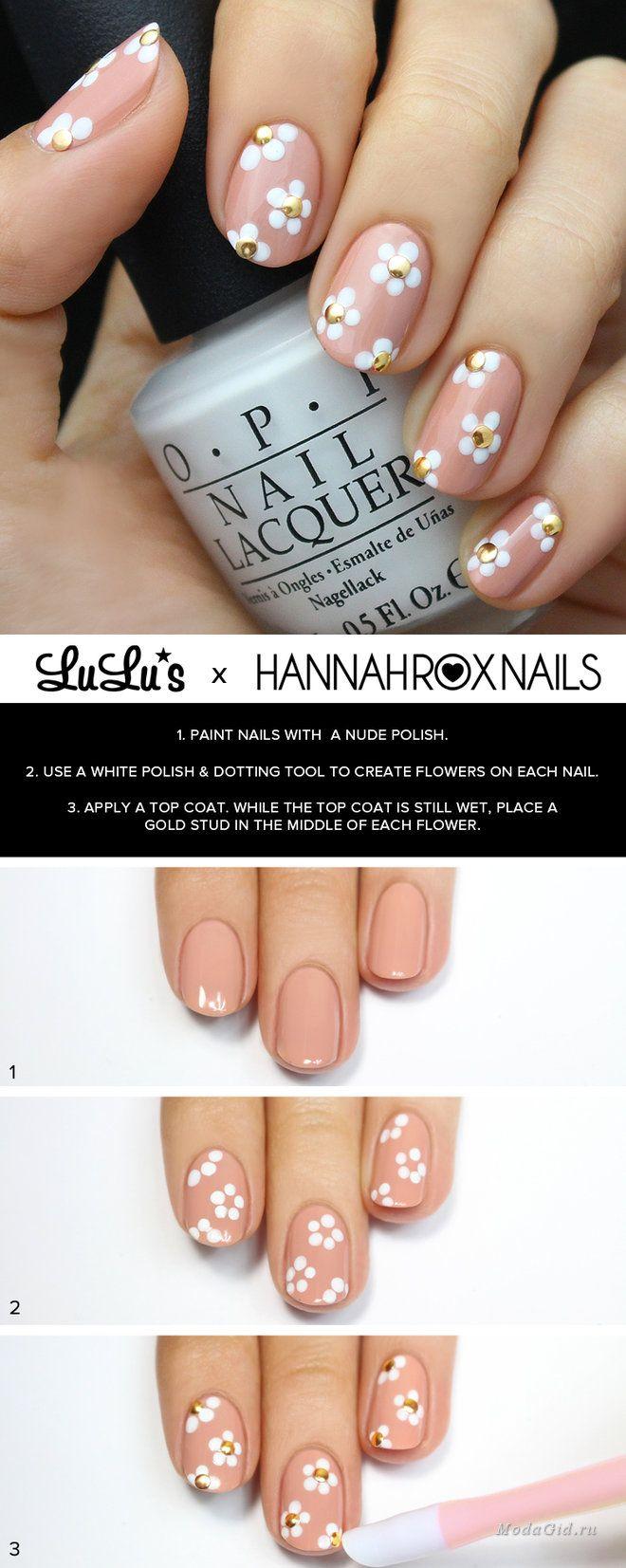 водные рисунки на ногтях в домашних условиях