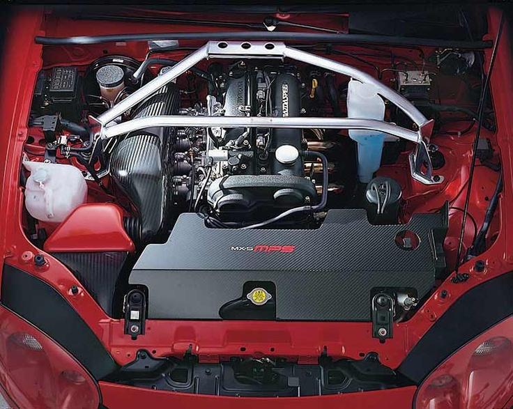 NB Mazda Miata with Carbon Fiber Intake Manifold and