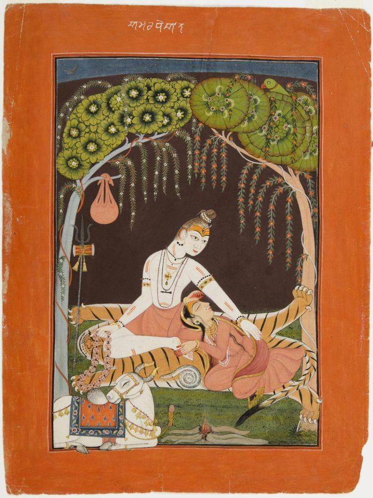 Philadelphia Museum of Art - Collections Object : Shiva and Parvati at Night (The Immortal Marriage)