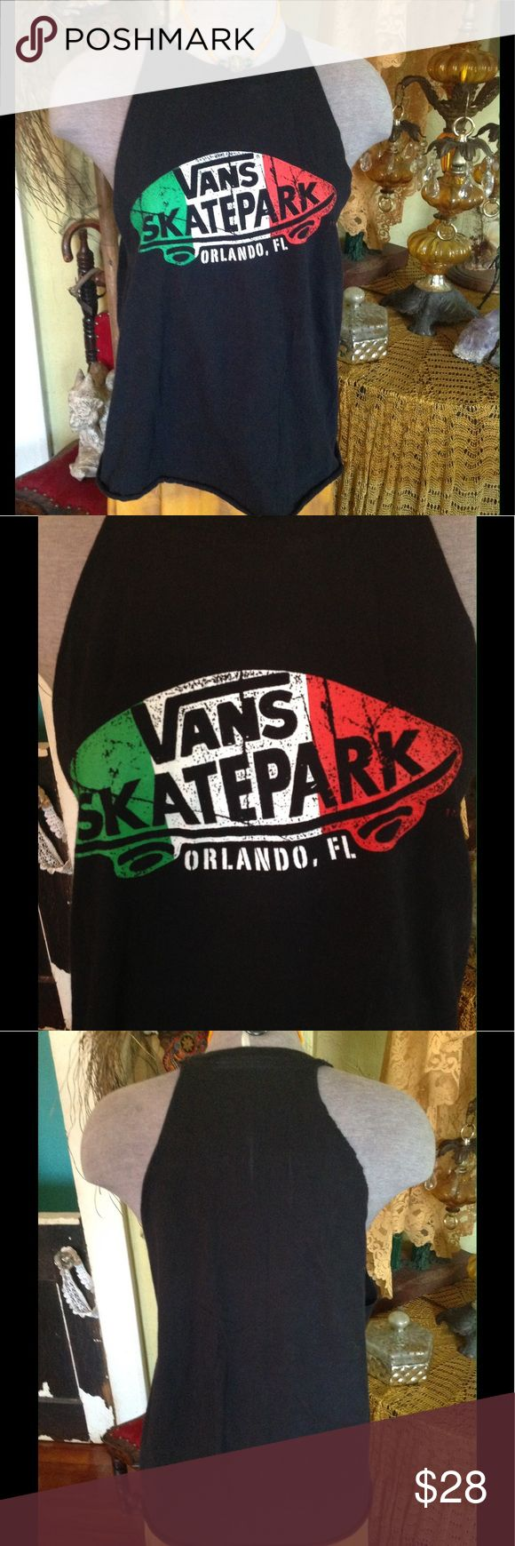 He was a skater boy, she said see you later boy Vans, altered, tee, tank top, boho, gypsy, festival, summer, skater, skate park, off the wall, Orlando, Fl, Avril Lavigne Vans Tops Tank Tops