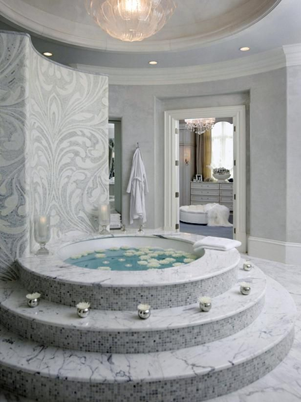 Transitional Bathrooms from Michael Habachy : Designers' Portfolio 5678 : Home & Garden Television