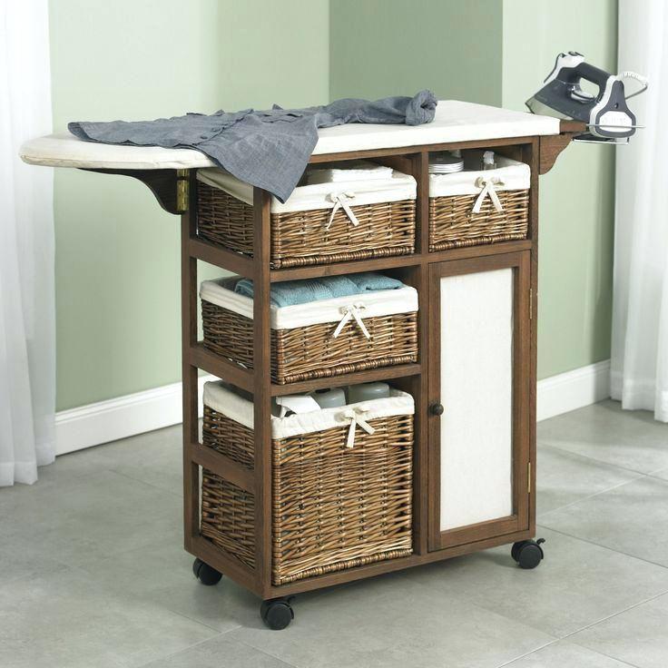 Ironing Board Cart Storage Folding