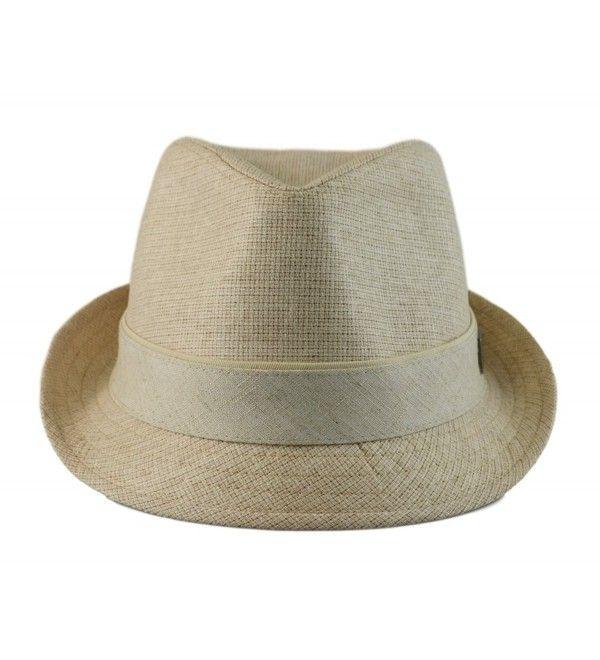 Big Size Mens Classic Fedora Short Brim Trilby Hat Xl 60cm Xxl 62cm Natural Cd11vs3vaoj Trilby Hat Hats For Men Trilby