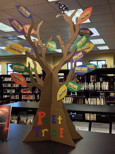 poet tree by Charlotte Mecklenburg Library, via Flickr
