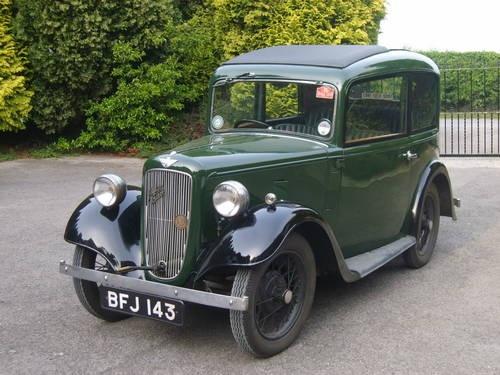 Austin 7 - Ruby Deluxe Saloon Mk2 - 1934