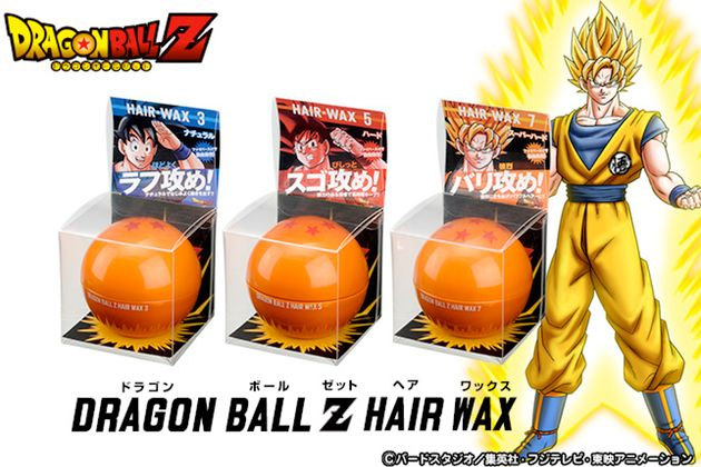 Dragon Ball Z Hair Wax...someone needs to send me this...for 'research'