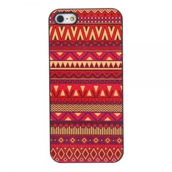 Back Case with Aluminum Sheet Cover for iphone 5 5s Ethnic Colorful Pattern #UnbrandedGeneric