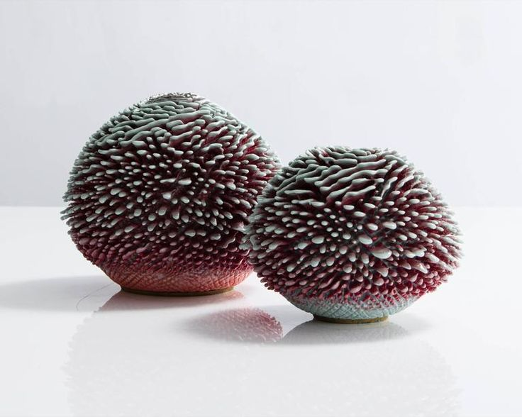 Unique Hand-Thrown Urchin Accretion by the Haas Brothers, USA, 2016