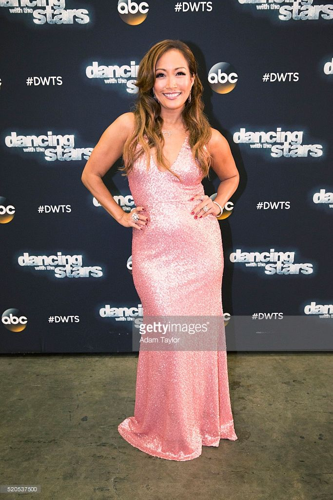 DWTS - 'Episode 2204' - The 10 remaining celebrities will transform into some of the most magical Disney characters and celebrate the magnificence of 'Disney Night,' on 'Dancing with the Stars,' live, MONDAY, APRIL 11 (8:00-10:01 p.m. EDT) on the ABC Television Network. Carrie Ann Inaba