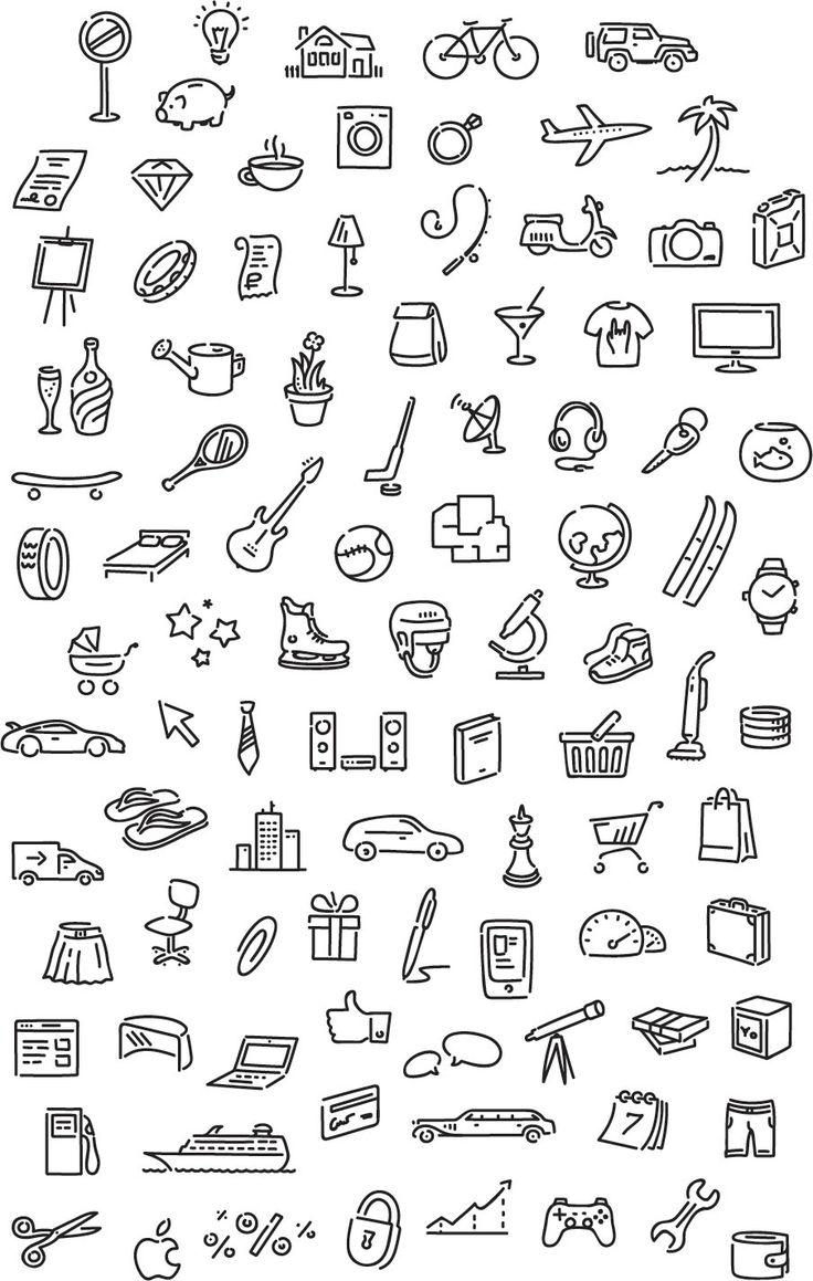 iconos utiles para decorar