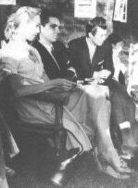 Photos of Valiant Thor, Don, and Jill (all from Venus) Photographed at Menger's Spacecraft Convention in Highbridge, New Jersey in the 1950s. Val Thor said to have contacted Dr. Frank Stranges. Stranges said they live inside of Venus.