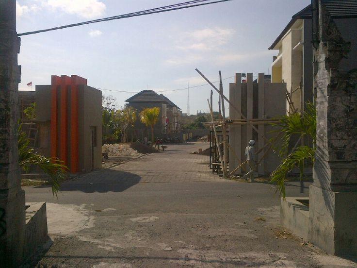 entrance gate..