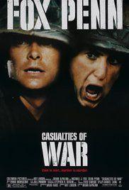 A háború áldozatai Poster