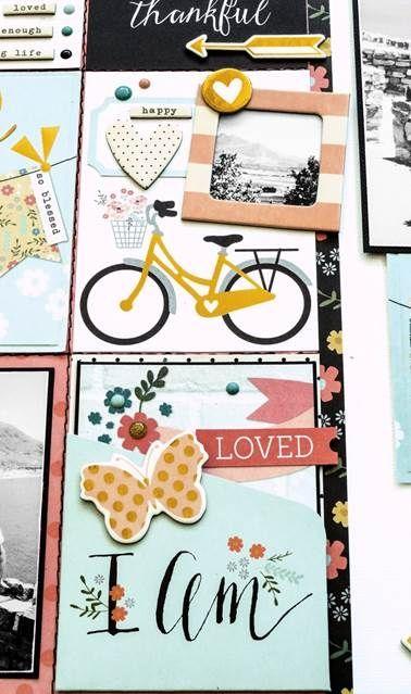 "Guest Designer Glenda Viljoen | Simple Stories ""I Am"" Collection"