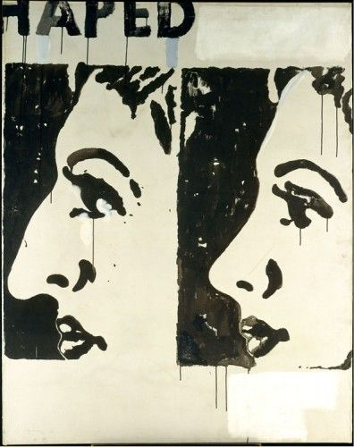 Warhol's painting Before and After I, which was in the original window display at Bonwit Teller,