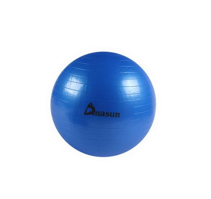 Yoga Fitness Ball Stability Exercise Ball Therapy Kit 55 CM (Blue)