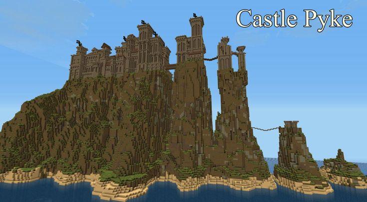 minecraft castles   Pyke Castle Minecraft Project
