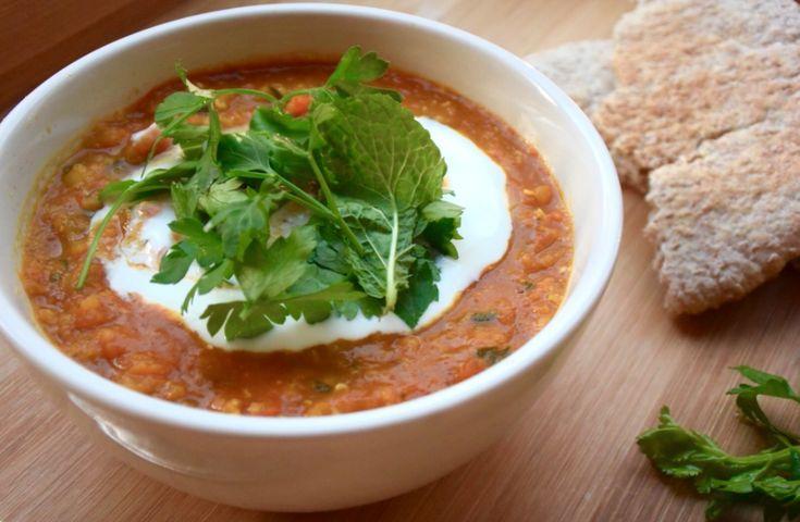 Vegetarische Afghaanse curry. Vol met groente en vitamines.