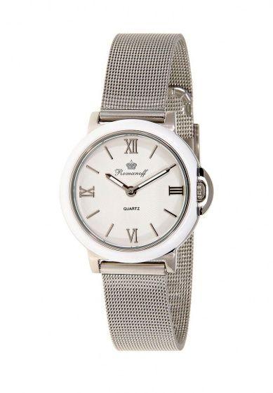 Часы от Romanoff с японским кварцевым механизмом Seiko. Детали: водозащита 3 АТМ; круглый корпус ...