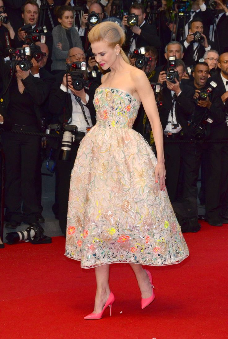 Nicole Kidman in Christian Dior Haute Couture at the 2013 Cannes Film Festival