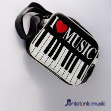 I Love Music Sling Bag