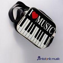I Love Music Sling Bag