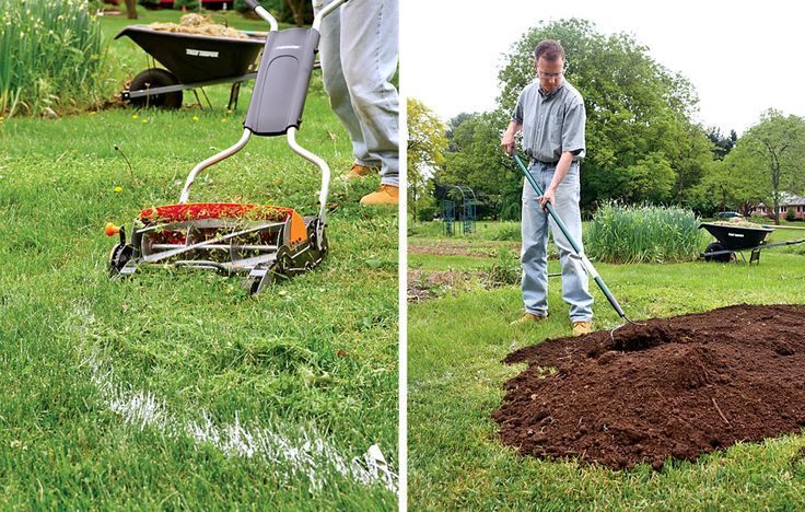 Want to plant a new flower bed in the middle of your lawn? Time to break out your sheet mulching skills.
