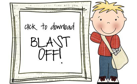 Blast Off!  My kiddos' favorite game this year!