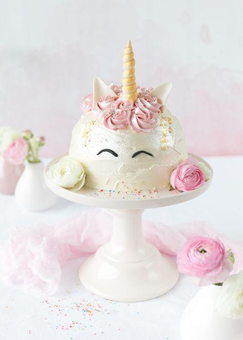 Emma's Lieblingsstücke  Einhorn-Torte *Zum Bloggeburtstag von FeinesHandwerk*