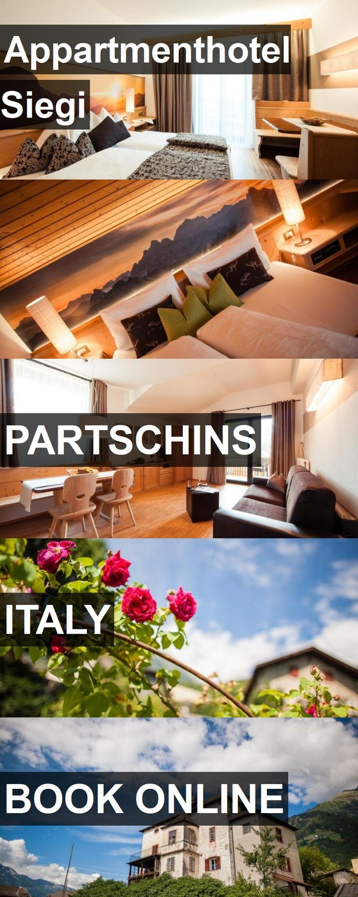 Appartmenthotel Siegi in Partschins, Italy. For more information, photos, reviews and best prices please follow the link. #Italy #Partschins #travel #vacation #hotel