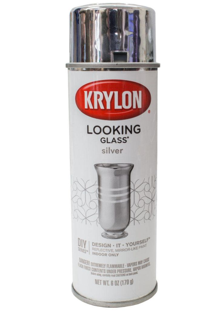 Looking Glass Silver Spray Paint (Cheaper than Amazon)